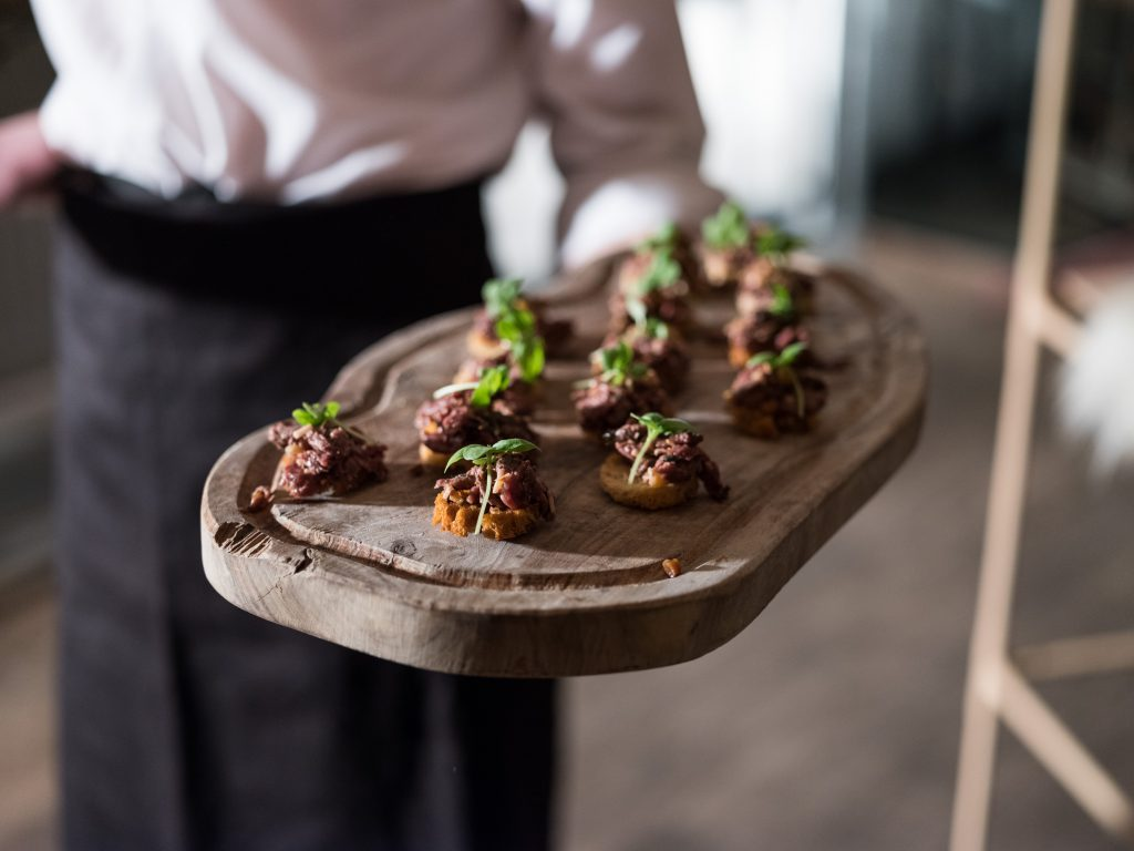 Canapés by The Clerkenwell Kitchen
