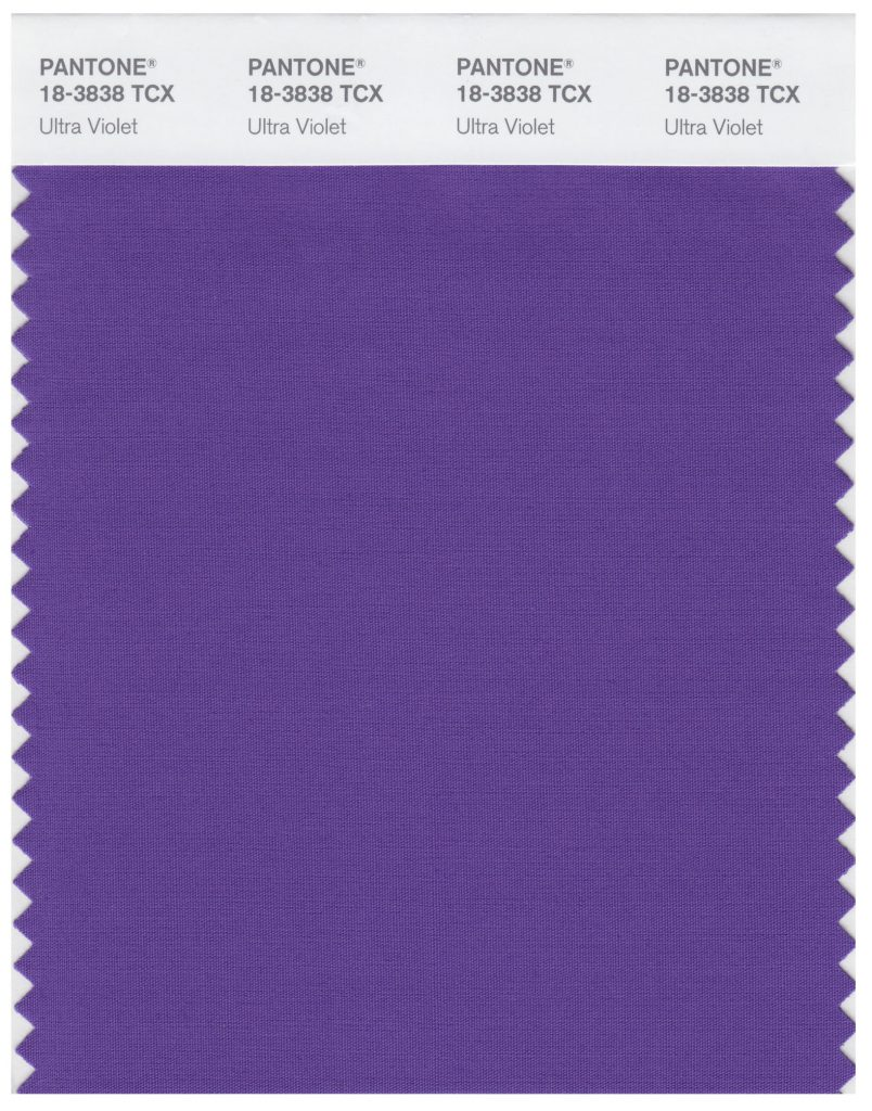 Ultra Violet (18-3838): Pantone Colour of the Year 2018