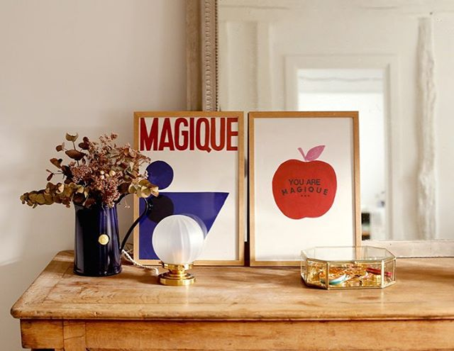 Hotel Magique make contemporary prints for couple who love art