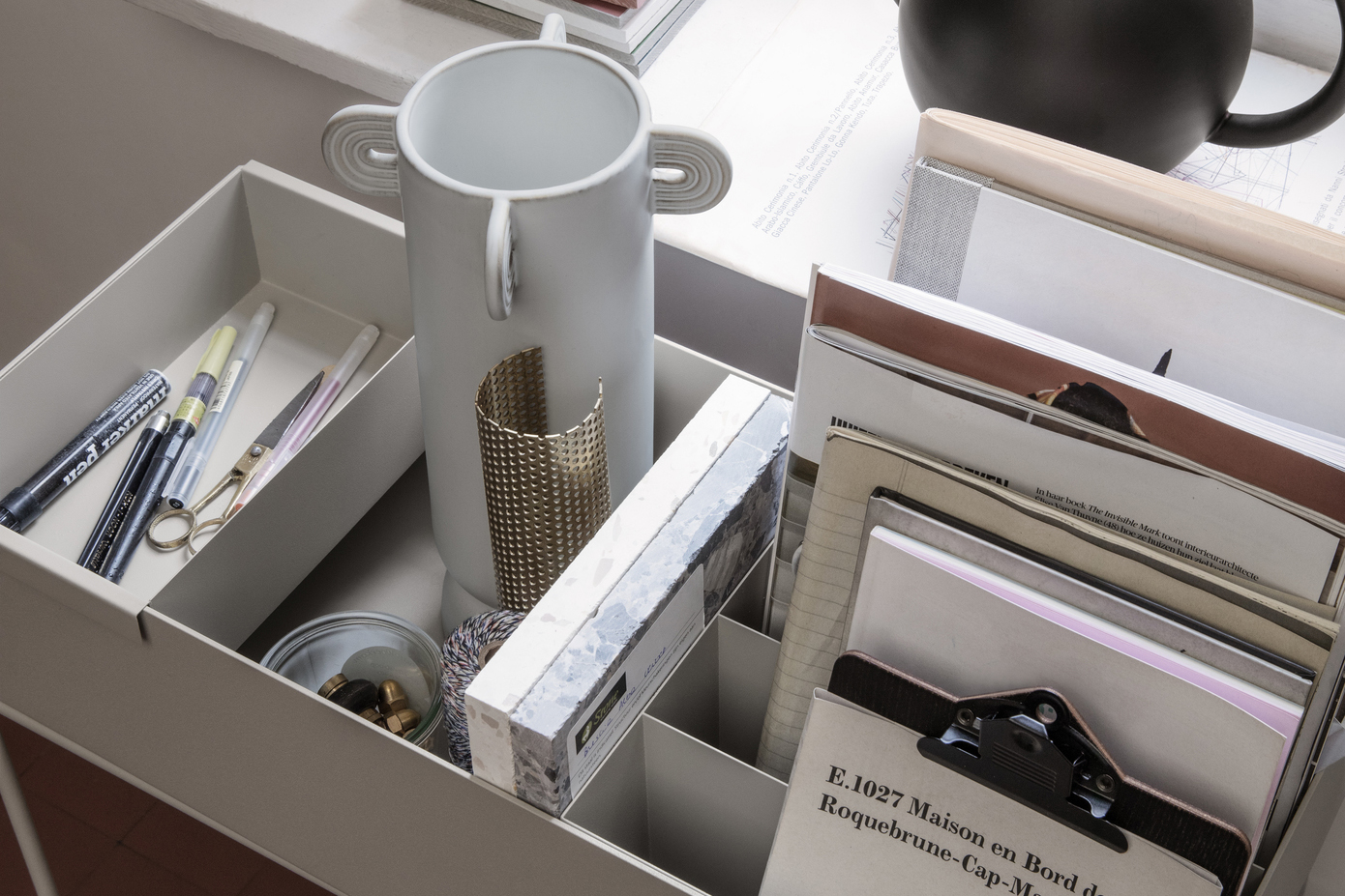 Not only will storage boxes help you find what you need, they'll also help you maintain your newly tidy home long-term