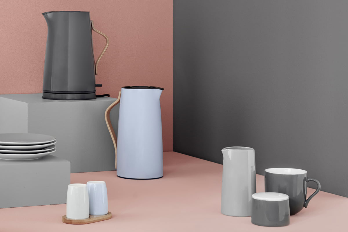 Stelton are famous for their kitchenware designs including jugs, kettles, French presses and coffee pots which all make beautiful wedding gifts