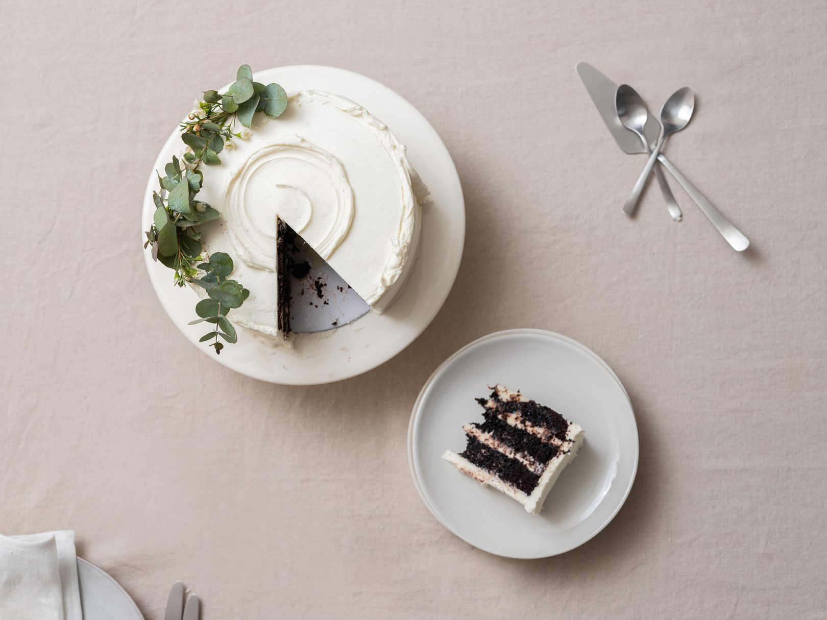 Trouva Anna Barnett's chocolate and stem ginger cake